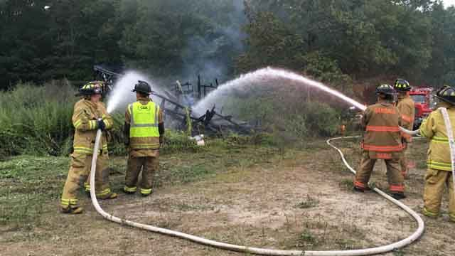 Fire breaks out at Salem pheasant farm for second time on Wednesday