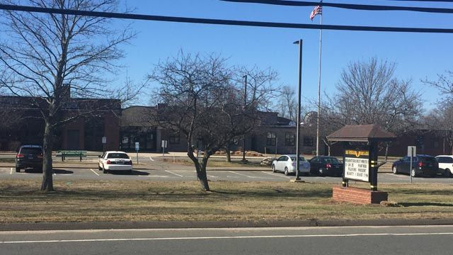 East Windsor High School locked down for search