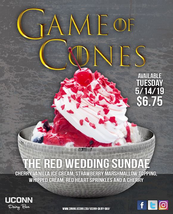 'Game of Cones' available at the UConn Dairy Bar