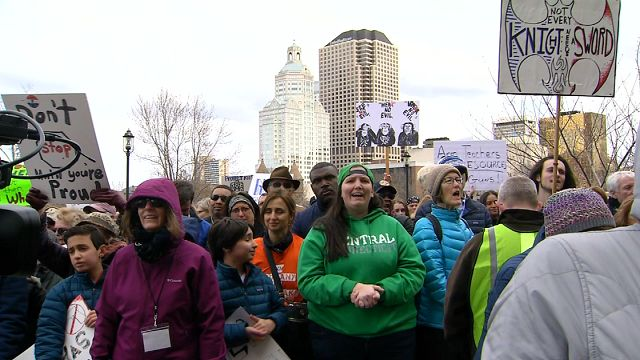 "Student voices echo resilience in Hartford's ""March for Our Lives"" rally"