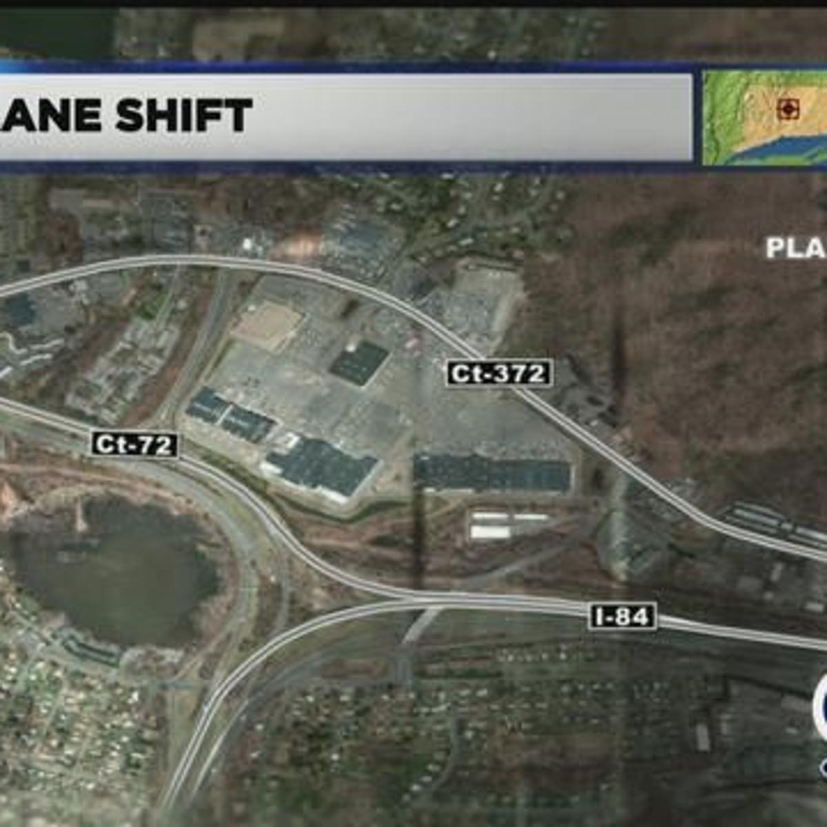 Lane shift expected to impact I-84 traffic in Plainville