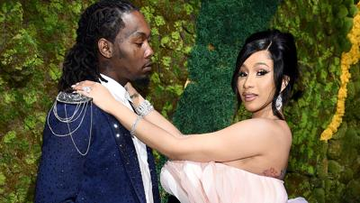 Cardi B defends husband Offset, who said he was hacked