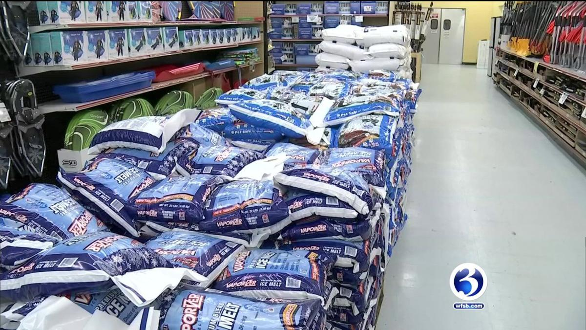 VIDEO: Litchfield County ready for Winter Storm Zoe