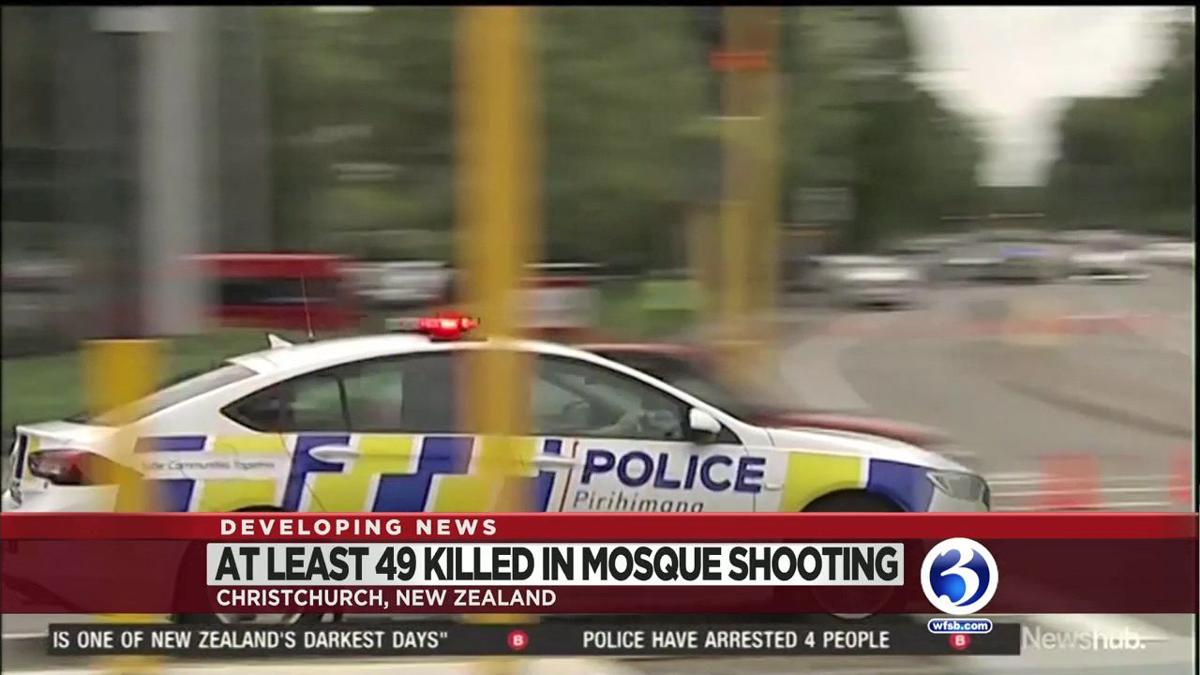 VIDEO: 49 killed in New Zealand mass shooting at mosques