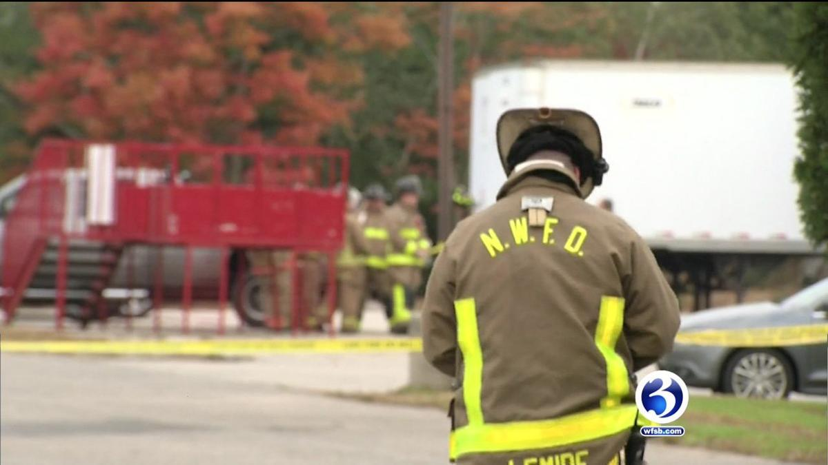 VIDEO: Hazmat situation investigated in North Windham