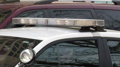 police car lights (daytime generic)