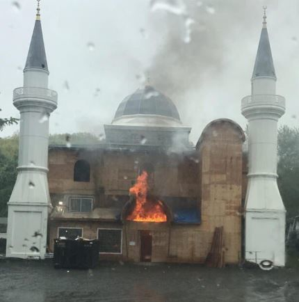 New Haven Mosque Fire