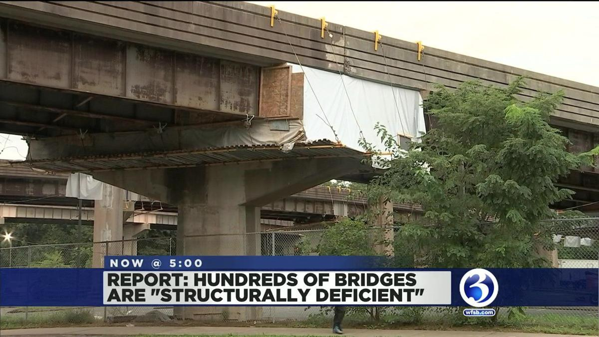 VIDEO: Report claims 300+ CT bridges are structurally deficient