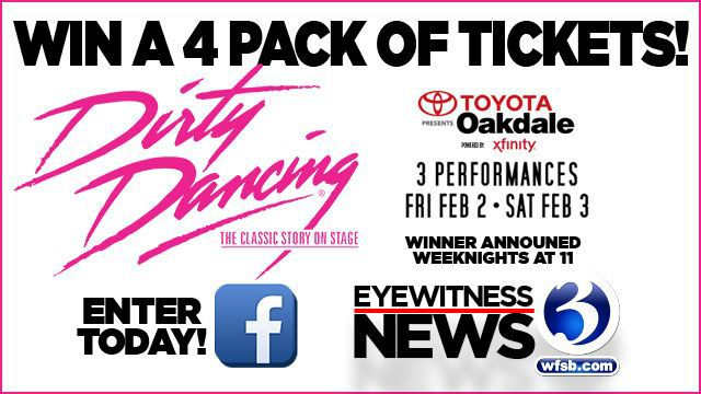 Rules for Dirty Dancing tickets sweepstakes