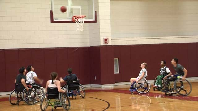 Wheelchair basketball camp gives children more opportunities