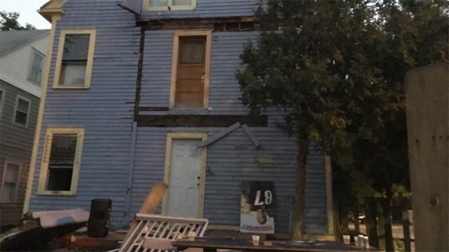 At least 30 injured after decks collapse at home near Trinity