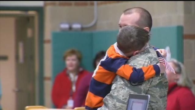 Christmas comes early for son of Watertown soldier