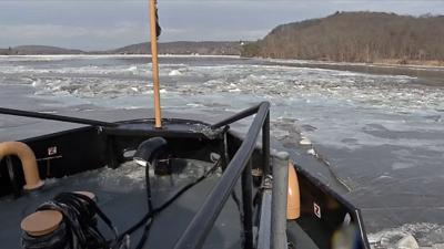 Coast Guard adds 3rd cutter to help break ice on Connecticut River