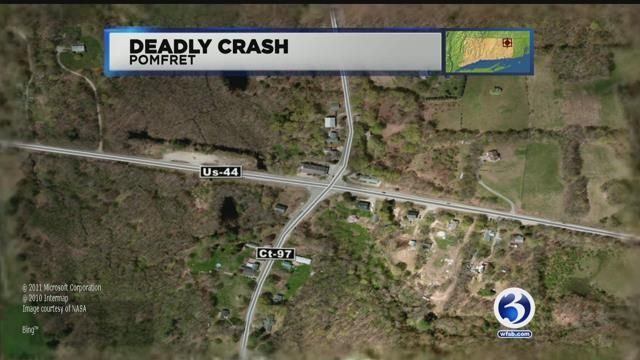 Woman killed, teen seriously hurt by vehicle while tending to struck dog in Pomfret