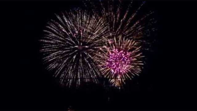 Towns/cities host fireworks displays this summer