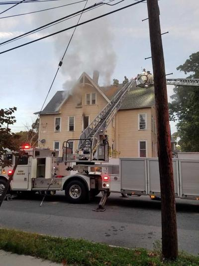 Fire crews fight morning structure fire in New Haven