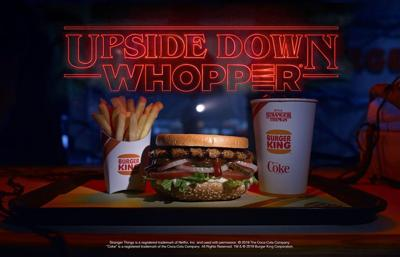 Burger King will sell upside-down Whoppers to celebrate 'Stranger Things'