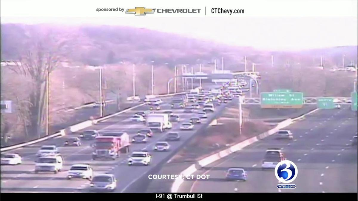 VIDEO: Crashes cause delays across the state