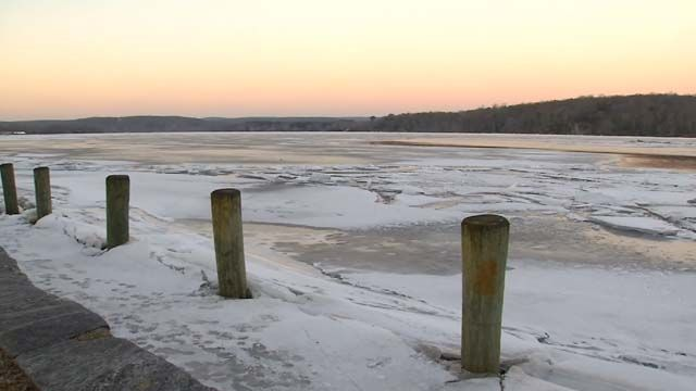 Residents downriver worry about ice jams, flooding