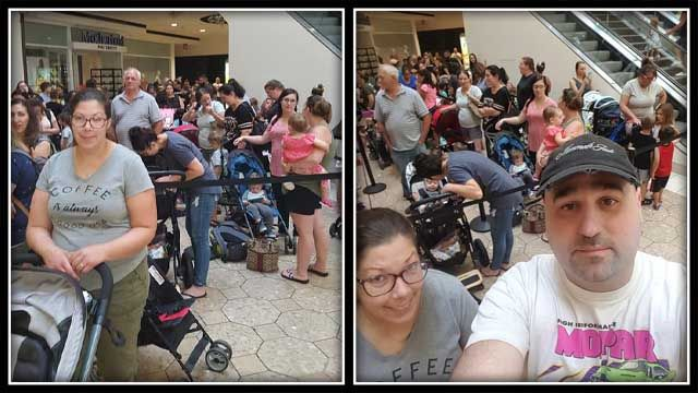 Lines closed for 'Pay Your Age Day' at Build-A-Bear due to overload
