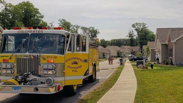 Colchester firefighters spend morning plugging propane leak