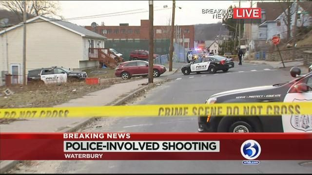 Officer-involved shooting reported in Waterbury Thursday afternoon