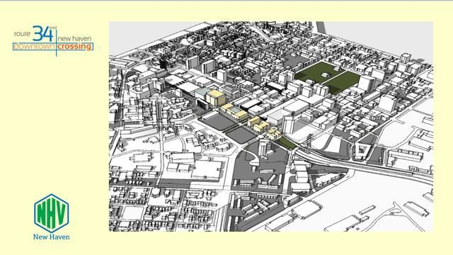Project looks to re-connect, re-develop downtown New Haven