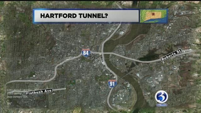Congressman wants tunnel built in Hartford to ease traffic on I-84, I-91