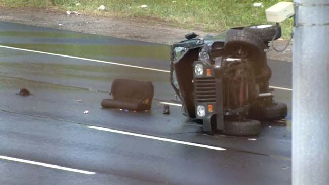 Nurse helped save 2-year-old's life after deadly crash on I-91