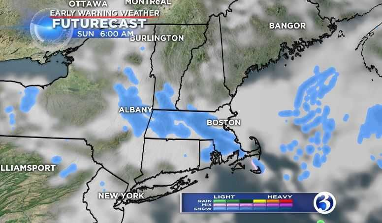 Weekend will be chilly, chance for a snow shower