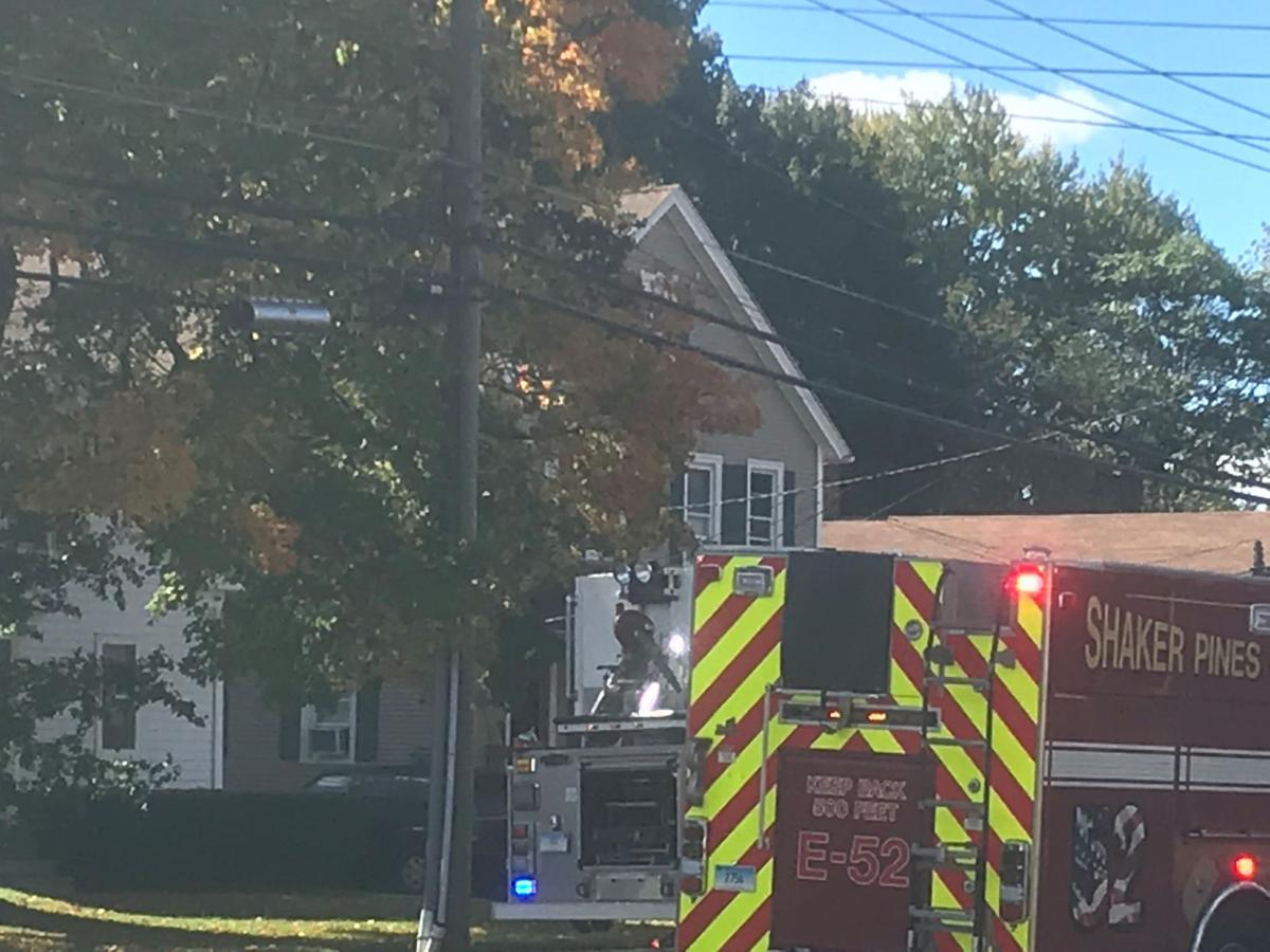 Enfield structure fire