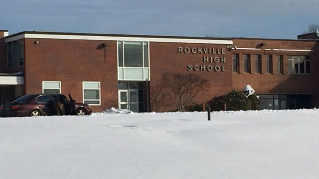 Rockville High students dismissed early due to sprinkler malfunction