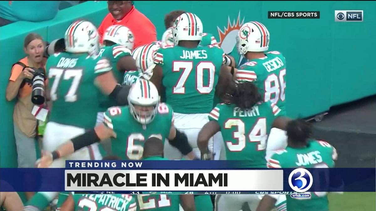TRENDING NOW: Dolphins win, Santacon, Rudolph gets the stink-eye, Dog hates boots