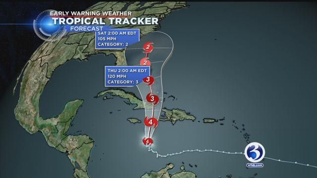 Weather turns better Tuesday, but all eyes are on Hurricane Matthew