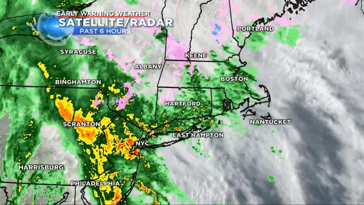 Spring storm causes flooding across state | Weather | wfsb com