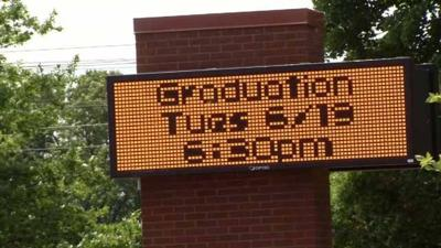 Wilcox Tech graduation set-up vandalized ahead of ceremony
