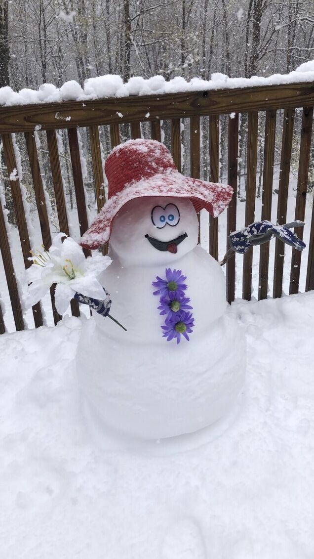 Somers snowman