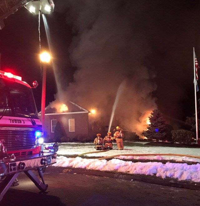 South Windsor home goes up in flames during owner's vacation
