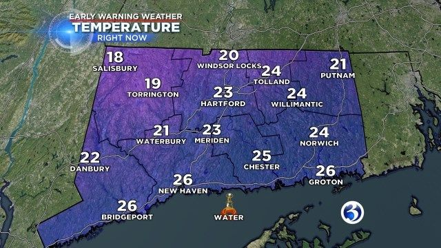 Wind Chill Advisory issued for parts of CT