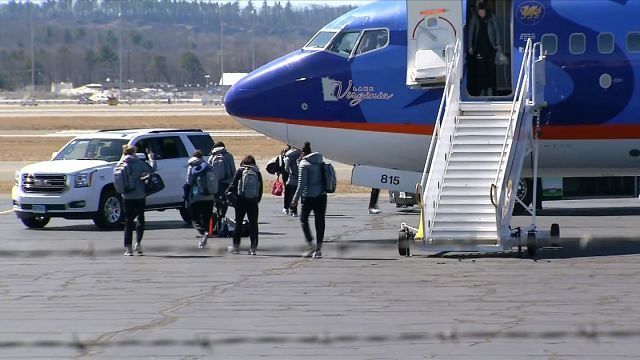 UConn Women's basketball returns from Final Four