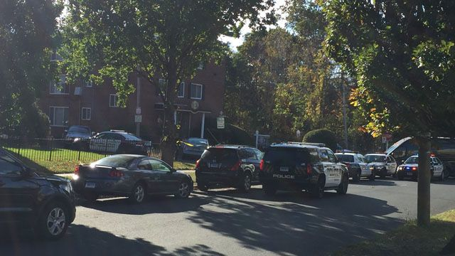 Hartford man taken to the hospital after barricading himself in a home