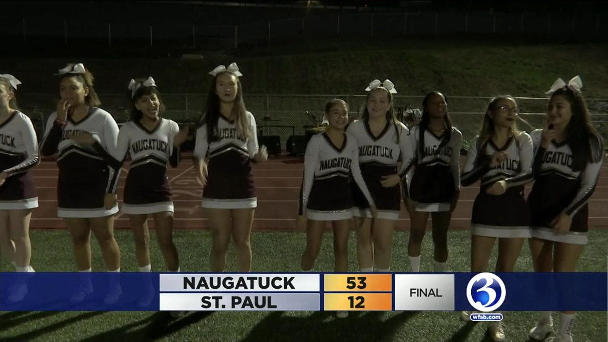 Naugatuck 53  St. Paul 12