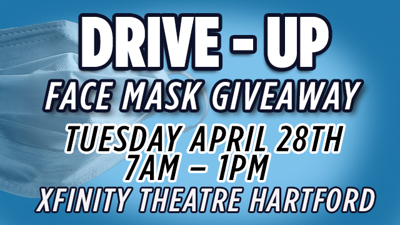 Drive Up Face Mask Giveaway