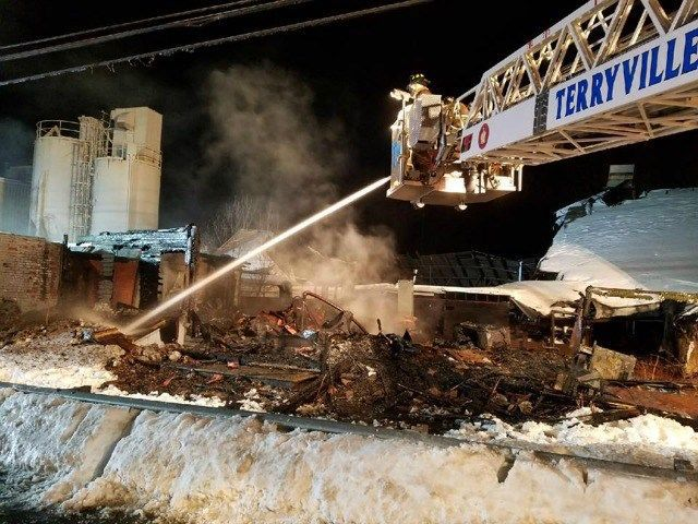 Fire at Old factory in Terryville under investigation