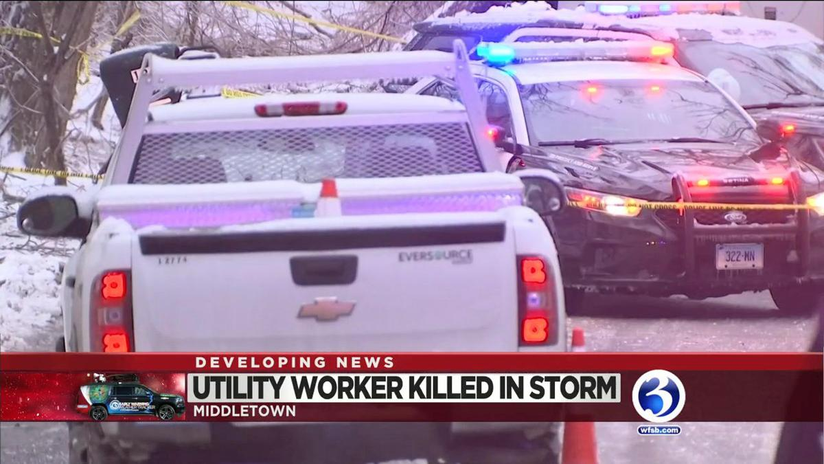 VIDEO: Eversource subcontractor killed on the job