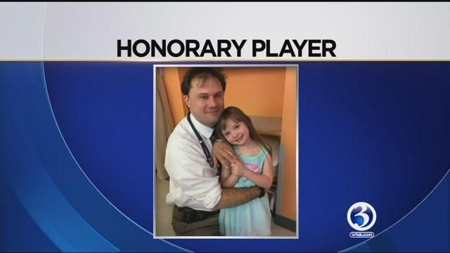 5-year-old girl from CT becomes honorary member of Conn. College volleyball team