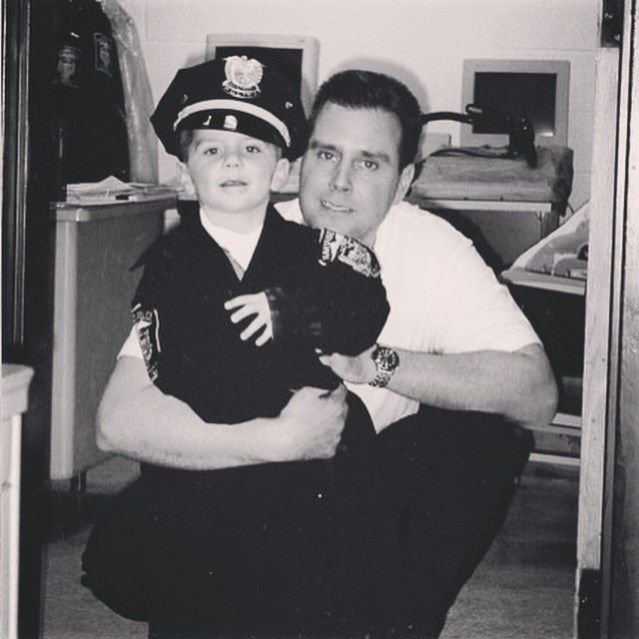 Newington officer follows in father's footsteps