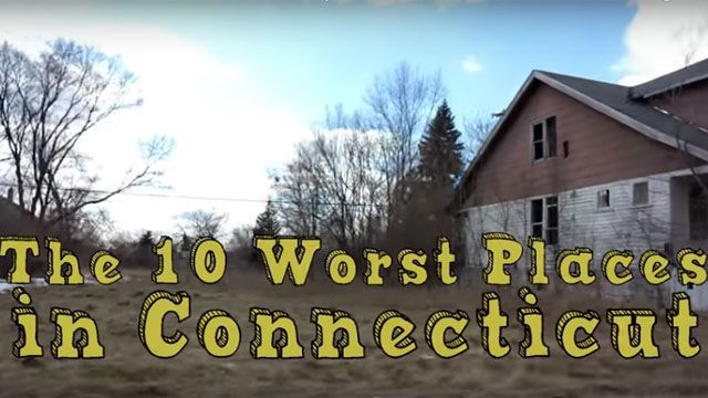 Site ranks 10 worst places to live in Connecticut