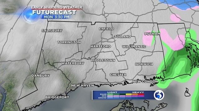 Light snow may make this morning's commute a bit slippery