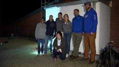 Rooftop camp out on Plainville High School helps hurricane relief